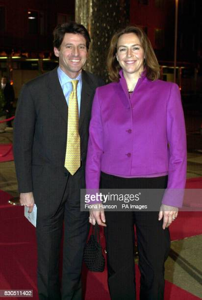 Former Olympic athlete Sebastian Coe and his wife Nicola McIrvine arriving at BBC Television Centre in London for the BBC Sports Personality of the...