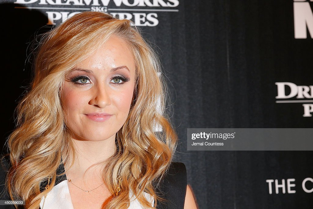 Former Olympic Champion Gymnast <a gi-track='captionPersonalityLinkClicked' href=/galleries/search?phrase=Nastia+Liukin&family=editorial&specificpeople=241334 ng-click='$event.stopPropagation()'>Nastia Liukin</a> attends the screening of 'Delivery Man' hosted by DreamWorks Pictures and The Cinema Society at Paley Center For Media on November 17, 2013 in New York City.
