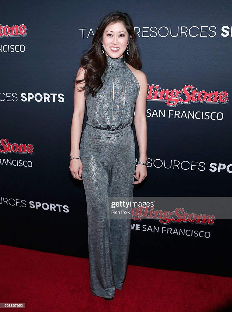 Former Olympic figure skater Kristi Yamaguchi attends Rolling Stone Live SF with Talent Resources on February 7, 2016 in San Francisco, California.