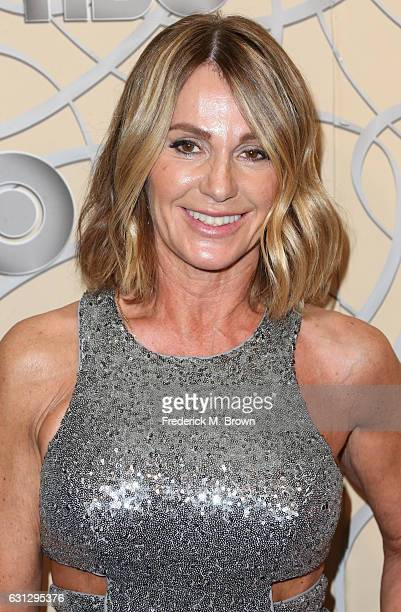 Former Olympic gymnast Nadia Comaneci attends HBO's Official Golden Globe Awards After Party at Circa 55 Restaurant on January 8 2017 in Beverly...