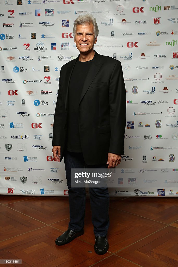 Former Olympic Swimmer Mark Spitz attends the Annual Charity Day Hosted By Cantor Fitzgerald And BGC at the Cantor Fitzgerald Office on September 11, 2013 in New York, United States.