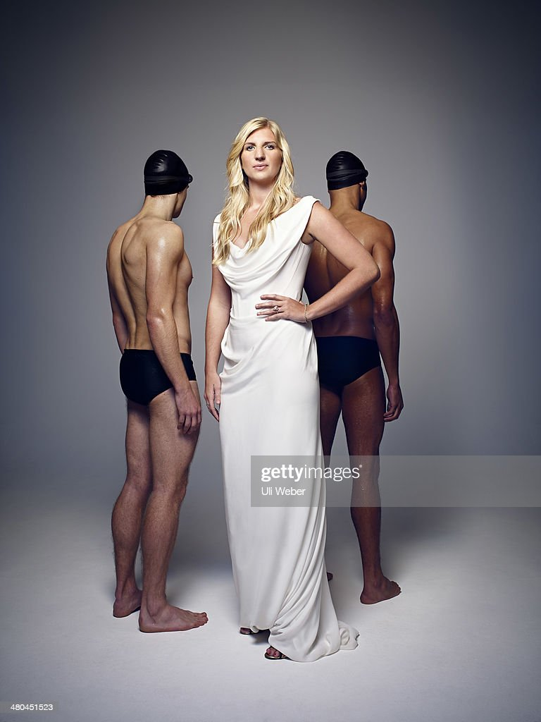 Former Olympic swimming champion <a gi-track='captionPersonalityLinkClicked' href=/galleries/search?phrase=Rebecca+Adlington&family=editorial&specificpeople=872897 ng-click='$event.stopPropagation()'>Rebecca Adlington</a> is photographed for The Times on December 12, 2013 in London, England.