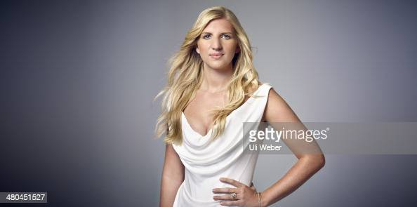 Former Olympic swimming champion Rebecca Adlington is photographed for The Times on December 12 2013 in London England