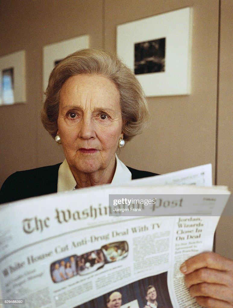 In profile: Publisher Katharine Graham