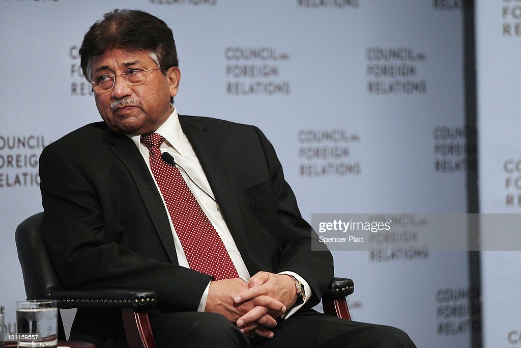 Former President Of Pakistan Musharraf Addresses The Council Of Foreign Relations