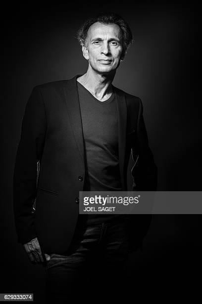 Former Paris Opera Ballet star dancer Laurent Hilaire poses during a photo session in Paris on December 7 2016 French dance star Laurent Hilaire is...