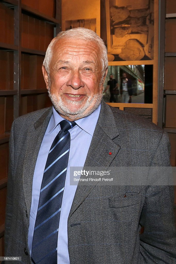 Former Paris Police chief Robert Broussard attends the '100th Anniversary Of The Paris Judiciary Police' exhibition opening on November 8, 2013 in Paris, France.