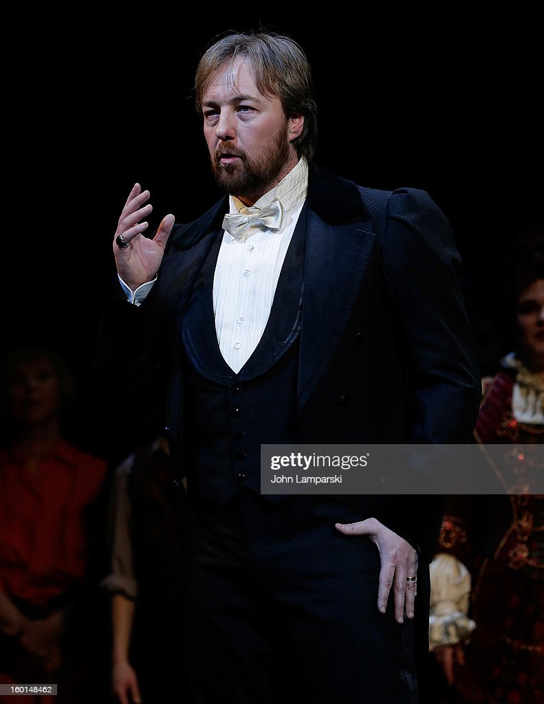 Former Phantom of the Opera cast member performs at 'The Phantom Of The Opera' Broadway 25th Anniversary at Majestic Theatre on January 26, 2013 in New York City.