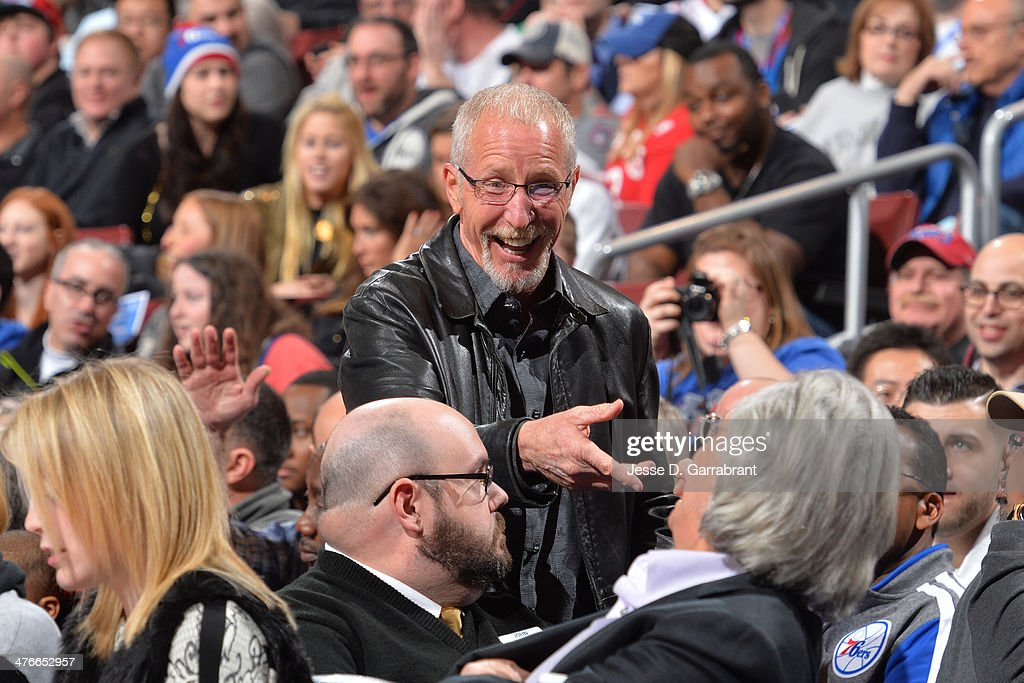 Former Philadelphia 76ers president, Pat Croce attends the Washington Wizards game against the Philadelphia 76ers at the Wells Fargo Center March 1, 2014 in Philadelphia, Pennsylvania.