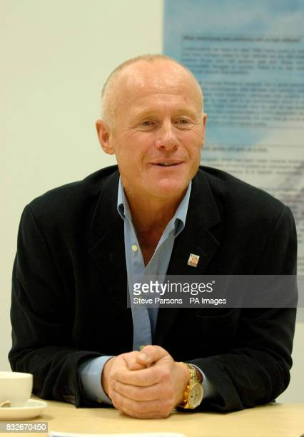 Former Phones 4u boss John Caudwell speaks at a press conference for the Xtreme Everest medical experiment to which he has donated 500K cash at their...