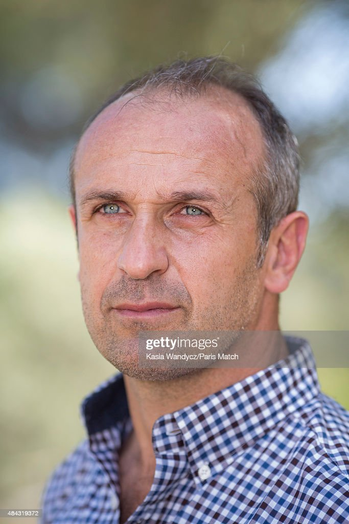 Former player and rugby coach Philippe Saint-Andre is photographed at home for Paris Match on June 17, 2015 near Toulon, France.