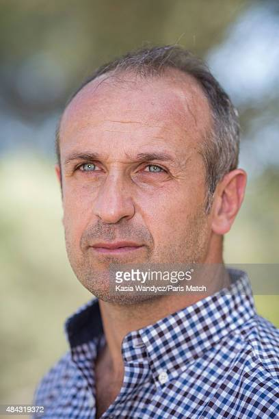 Former player and rugby coach Philippe SaintAndre is photographed at home for Paris Match on June 17 2015 near Toulon France