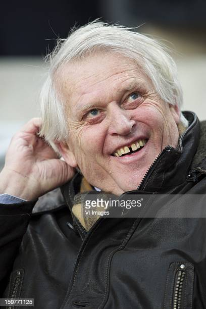 former player Piet Keizer of Ajax during the Dutch Eredivise match between Ajax Amsterdam and Feyenoord at the Amsterdam Arena on January 20 2013 in...
