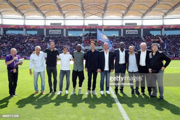 Former players of Toulouse Johan Elmander Beto Marcico Wissam Ben Yedder Achille Emana Moussa Sissoko Dominique Arribage Gerald Passi Yannick Stopyra...
