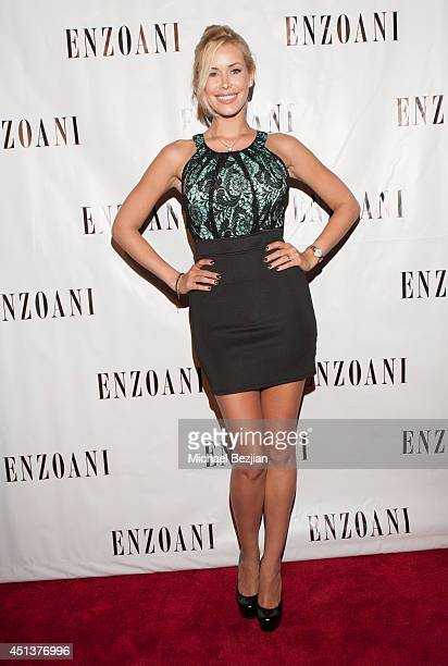Former Playmate Kennedy Summers arrives at Enzoani's 8th Annual Fashion Event at Dolby Theatre on June 27 2014 in Hollywood California