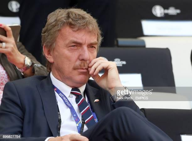 Former Poland player Zbigniew Boniek