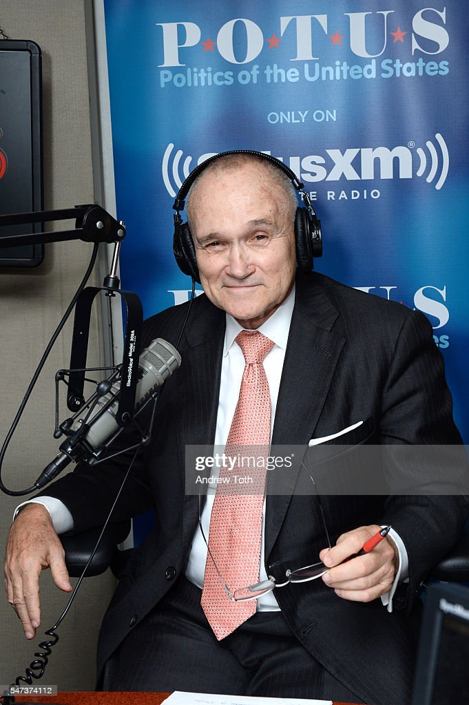 Former Police Commissioner Ray Kelly Visits The SiriusXM Studios