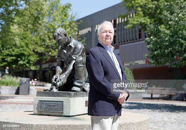 Former Portland City Manager John Menario poses Sunday June 19 2016 in Lobsterman's Park at the corner of Temple St and Middle St in Portland Maine...