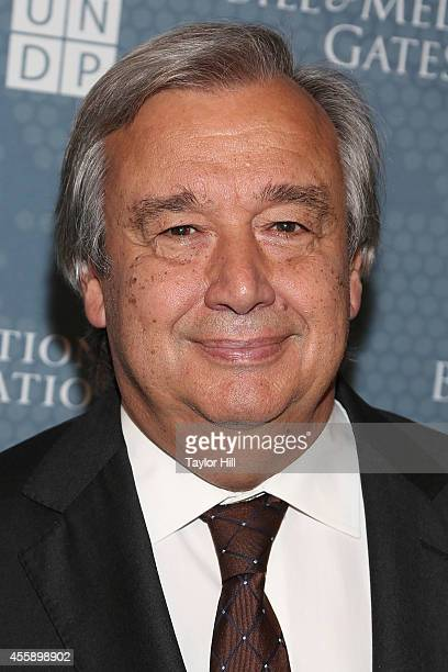 Former Portuguese Prime Minister Antonio Guterres attends the 2014 Social Good Summit at 92Y on September 21 2014 in New York City