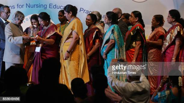 Former President APJ Abdul Kalam attended the 22nd Biennial Conference of the Trained Nurses Association of India at Shanmukhananda Auditorium on...