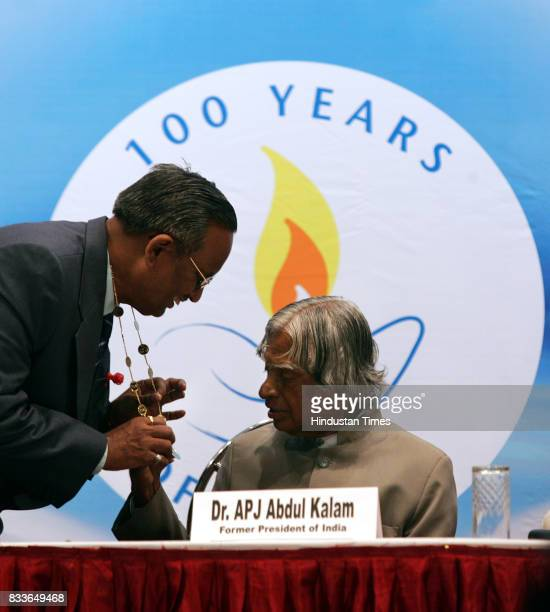 Former President APJ Abdul Kalam attended the 22nd Biennial Conference of the Trained Nurses Association of India at Shanmukhanda Auditorium on...