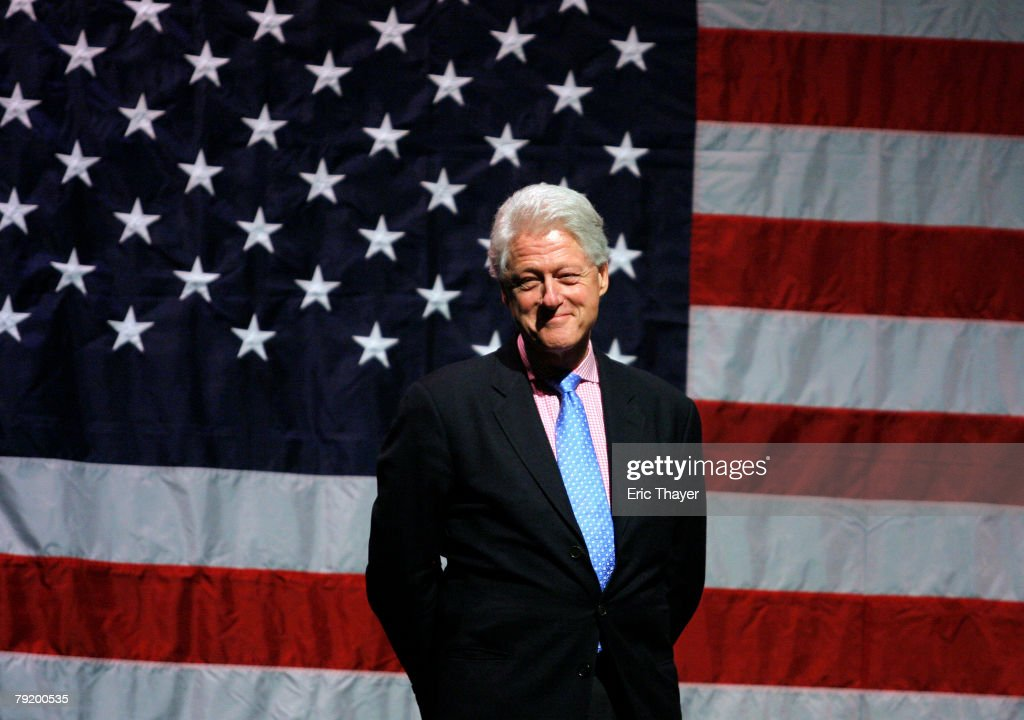 Bill Clinton Continues Campaigning For Hillary In South Carolina