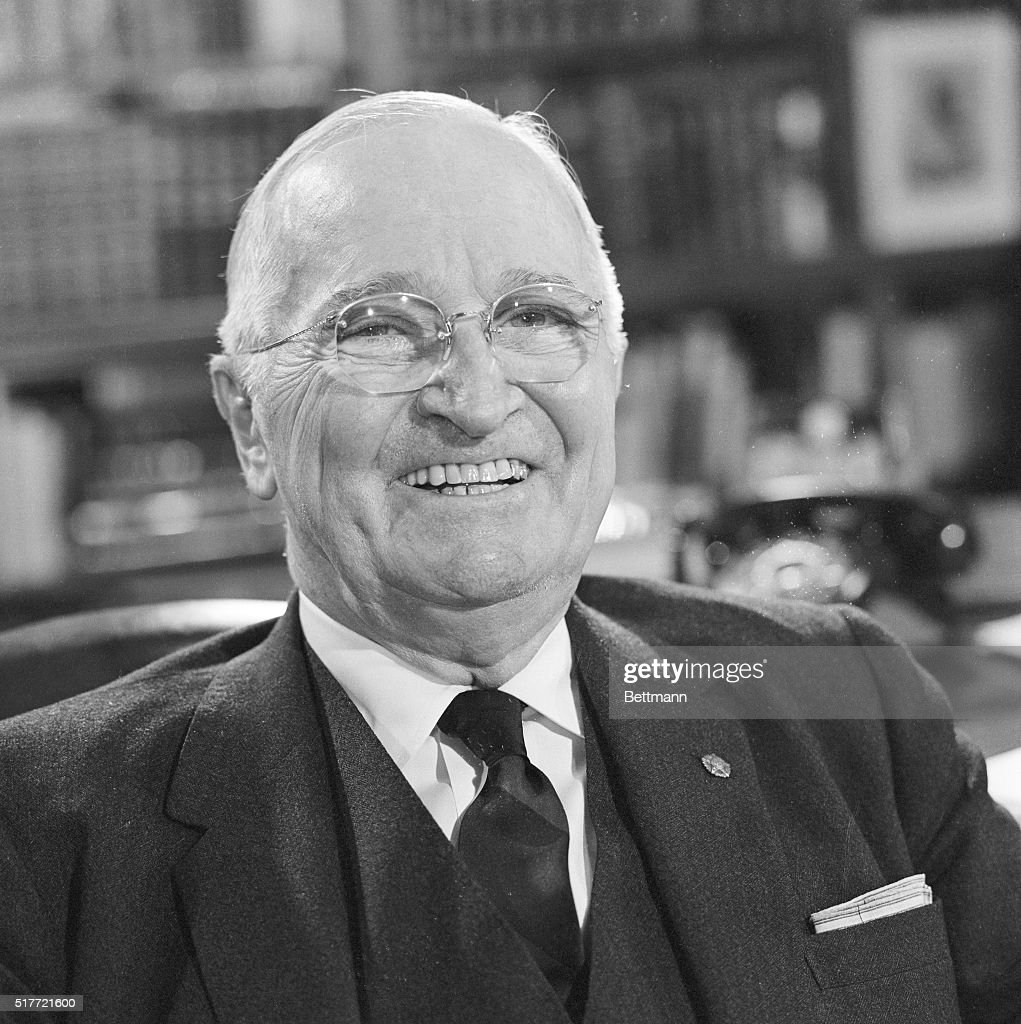 Harry truman getty images