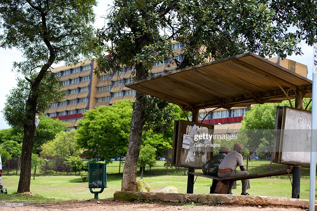 Former President Nelson Mandela was admitted to the One Military Hospital over the weekend, the hospital shown here on December 10, 2012 is in Pretoria, South Africa. The statment issued to the media is that Mandela has been admitted for a routine check-up.