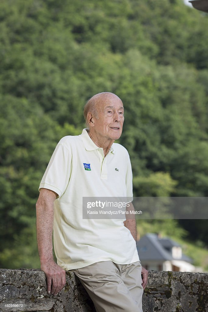Former President of France <a gi-track='captionPersonalityLinkClicked' href=/galleries/search?phrase=Valery+Giscard+d%27Estaing&family=editorial&specificpeople=209245 ng-click='$event.stopPropagation()'>Valery Giscard d'Estaing</a> is photographed at his ancestral home in the village of Estaing which has been turned into a museum dedicated to his Presidency. Paris Match, July 5, 2014 near Rodez, France.