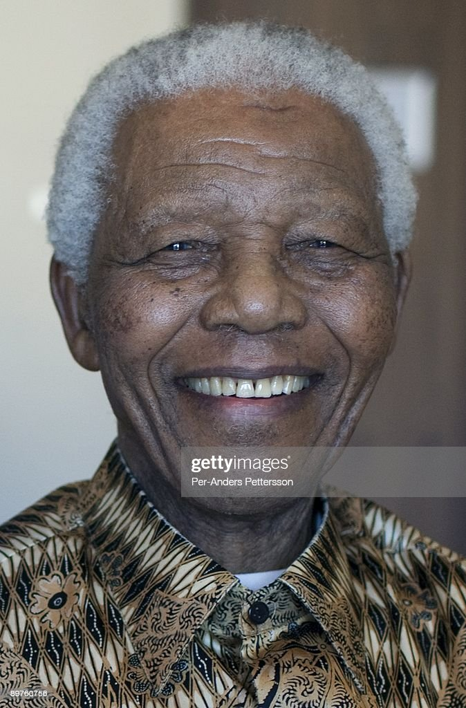 Former President of South Africa <a gi-track='captionPersonalityLinkClicked' href=/galleries/search?phrase=Nelson+Mandela&family=editorial&specificpeople=118613 ng-click='$event.stopPropagation()'>Nelson Mandela</a> poses for a portrait on April 2, 2009 in his suite at the One&Only Resort in Cape Town, South Africa. The ANC freedom fighter was in prison for 27 years and released in 1990. He became President of South Africa after the first multiracial democratic elections in April 1994, holding office for five years until retiring after one term in 1999.
