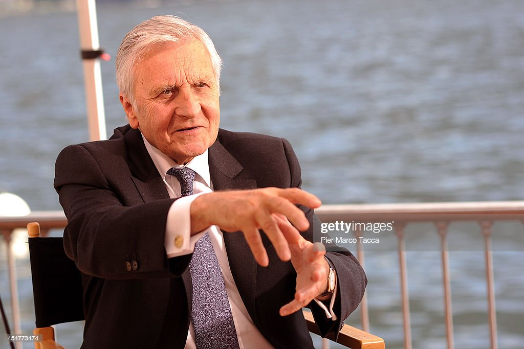 Former President of the European Central Bank <a gi-track='captionPersonalityLinkClicked' href=/galleries/search?phrase=Jean-Claude+Trichet&family=editorial&specificpeople=208778 ng-click='$event.stopPropagation()'>Jean-Claude Trichet</a> attends the Ambrosetti International Economy Forum at Villa d'Este Hotel on September 5, 2014 in Como, Italy. 'Intelligence on the World, Europe and Italy' is the title of the workshop of the 40th edition of Ambrosetti International Economy Forum the intent of the workshop is to offer Italian and International decision-makers the opportunity for serious, high-level examination with the support of studies and statistics of geopolitical, economic, technological and social scenarios and their implication for business.