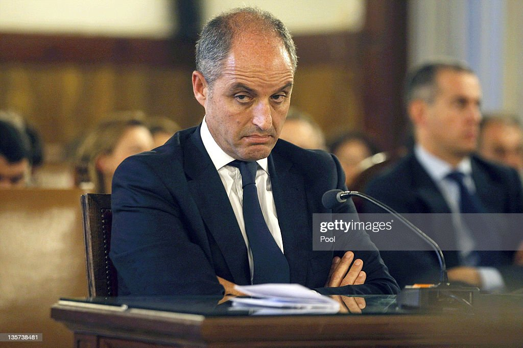 Former Valencia President Francisco Camps Stands Trial on Charges Of Bribery