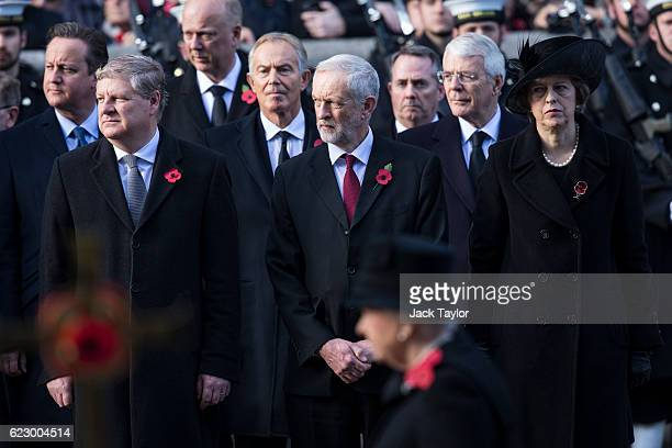 Former Prime Minister David Cameron SNP deputy leader Angus Robertson Transport Secretary Chris Grayling Former Prime Minister Tony Blair Labour...