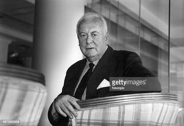 Former Prime Minister Gough Whitlam pictured at an industrial relations conference in Sydney New South Wales