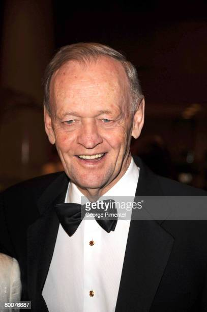 Former Prime Minister of Canada Jean Chretien attends the Canadian Songwriters Hall of Fame Gala at Le Royal Meridien King Edward Hotel in Toronto...