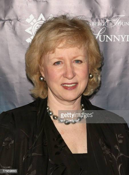 Former Prime Minister of Canada Kim Campbell attends the 2007 International Women Leaders Global Security Summit at the Jumeirah Essex House on...