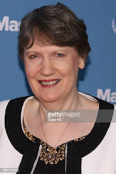 Former Prime Minister of New Zealand Helen Clark attends the 2015 Social Good Summit at 92Y on September 27 2015 in New York City