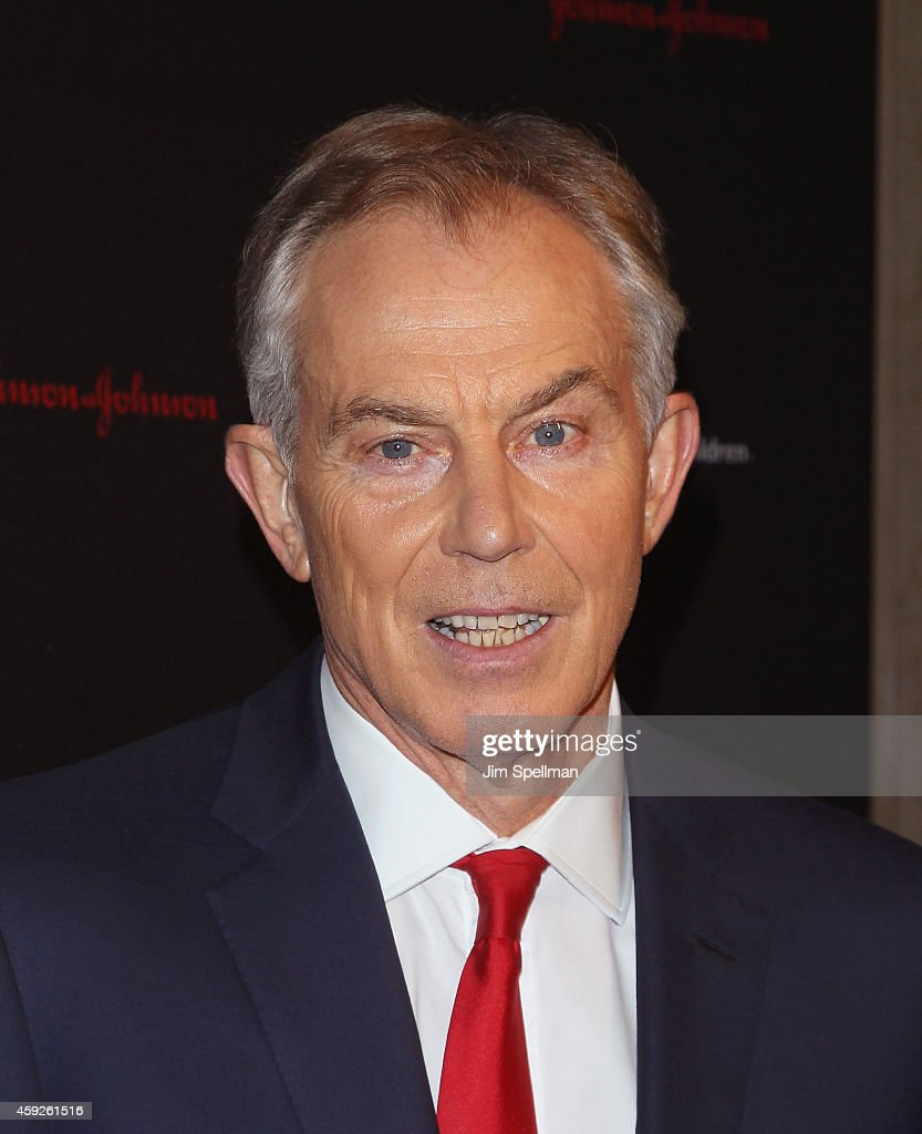 Former Prime Minister of the United Kingdom Tony Blair attends the 2nd annual Save the Children Illumination Gala at the Plaza Hotel on November 19, 2014 in New York City.