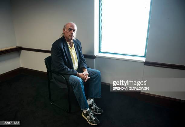 Former pro wrestler Jesse Ventura pauses while speaking about his book 'They Killed Our President' October 4 2013 in Washington DC Ventura who is...