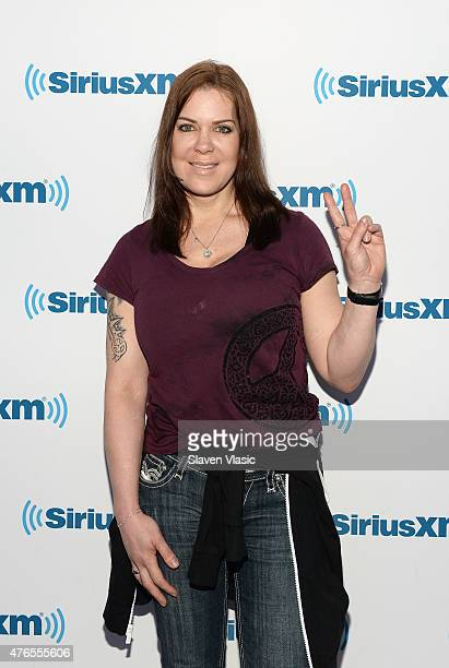 Former Pro wrestler/actress Joanie 'Chyna' Laurer visits SiriusXM Studios on June 10 2015 in New York City