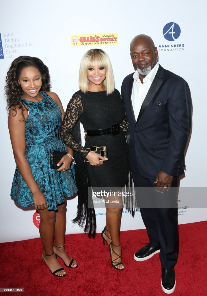 Former Professional Athlete Emmitt Smith (R) attends the 17th Annual Harold & Carole Pump Foundation Gala at The Beverly Hilton Hotel on August 11, 2017 in Beverly Hills, California.