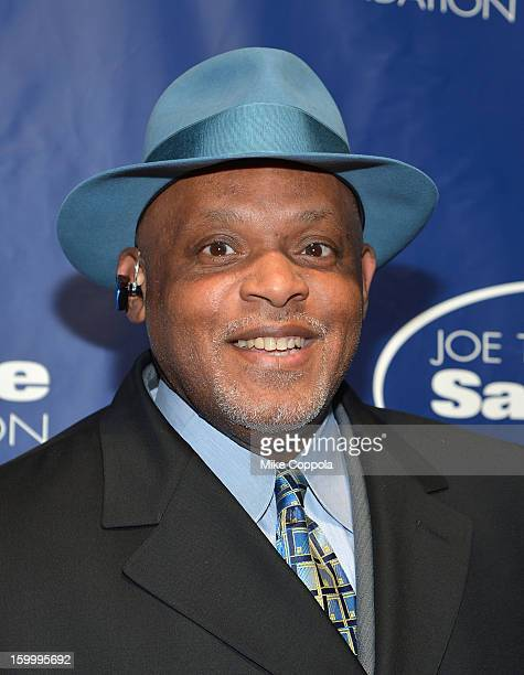 Former professional baseball player Cecil Fielder attends Joe Torre's Safe At Home Foundation's 10th Anniversary Gala at Pier 60 on January 24 2013...