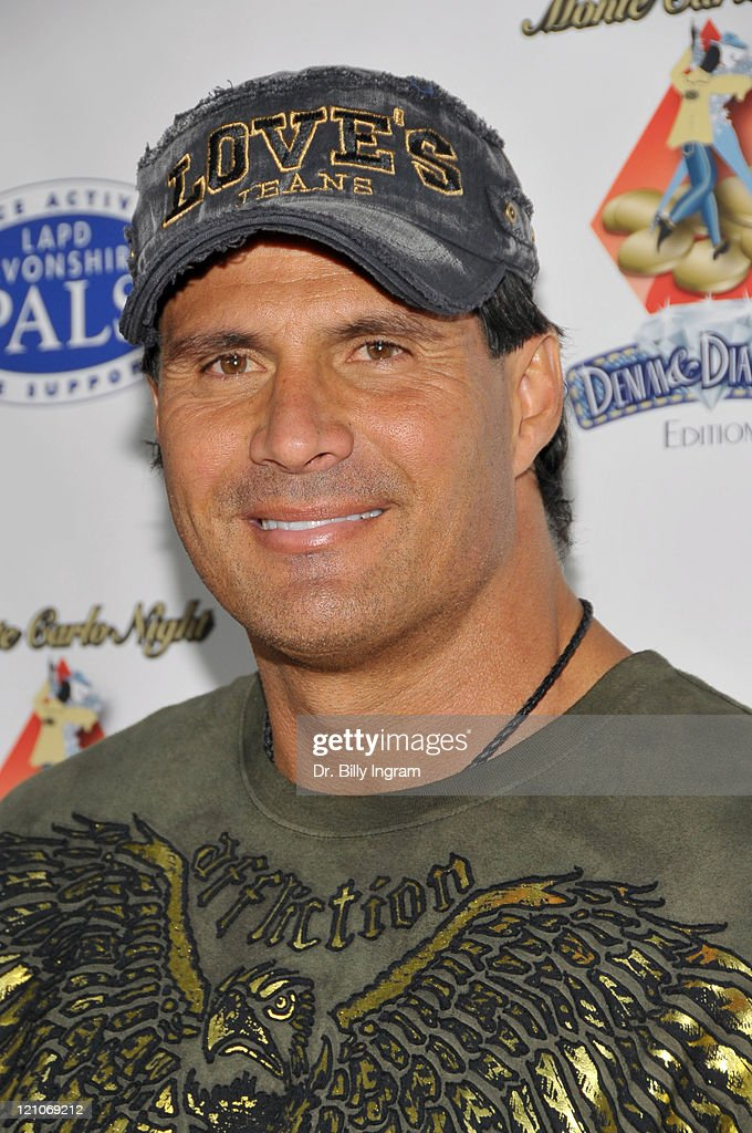 Former professional baseball player, <a gi-track='captionPersonalityLinkClicked' href=/galleries/search?phrase=Jose+Canseco&family=editorial&specificpeople=203063 ng-click='$event.stopPropagation()'>Jose Canseco</a> attends <a gi-track='captionPersonalityLinkClicked' href=/galleries/search?phrase=Nancy+Cartwright&family=editorial&specificpeople=1295775 ng-click='$event.stopPropagation()'>Nancy Cartwright</a>'s 4th Annual Monte Carlo Night to benefit PALS on October 3, 2009 in Northridge, California.