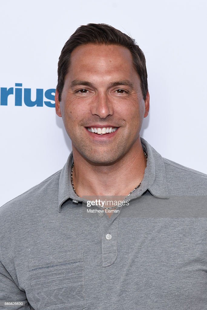 Former professional baseball player Mark DeRosa visits SiriusXM Studio on August 4, 2016 in New York City.