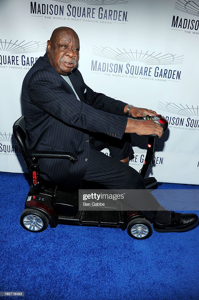 Former professional basketball player Cal Ramsey attends the Madison Square Garden Transformation Unveiling at Madison Square Garden on October 24, 2013 in New York City.
