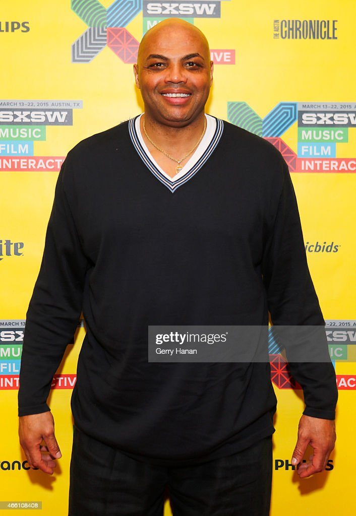 Former professional basketball player <a gi-track='captionPersonalityLinkClicked' href=/galleries/search?phrase=Charles+Barkley&family=editorial&specificpeople=202484 ng-click='$event.stopPropagation()'>Charles Barkley</a> attends 'How to Remain Relevant In Today's Digital Age' during the 2015 SXSW Music, Film + Interactive Festival at Austin Convention Center on March 13, 2015 in Austin, Texas.