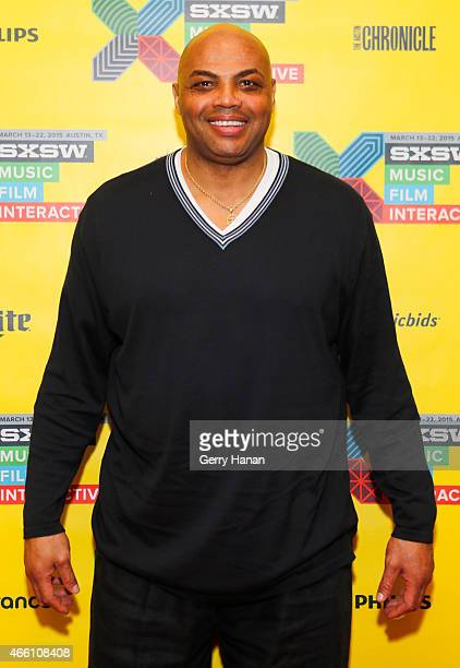 Former professional basketball player Charles Barkley attends 'How to Remain Relevant In Today's Digital Age' during the 2015 SXSW Music Film...