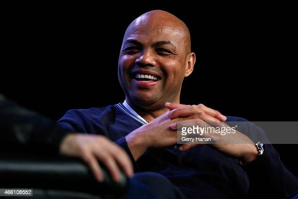 Former professional basketball player Charles Barkley speaks onstage at 'How to Remain Relevant In Today's Digital Age' during the 2015 SXSW Music...