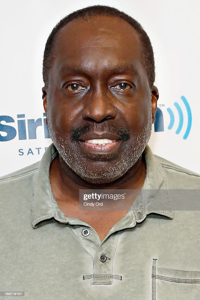 Former professional basketball player Earl 'The Pearl' Monroe visits the SiriusXM Studios on May 21 2013 in New York City