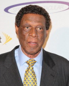 Former Professional Basketball Player Elgin Baylor attends the 28th Annual Sports Spectacular Anniversary Gala at the Hyatt Regency Century Plaza on...